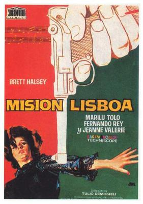 077 intrigue Lisbonne - Poster - Spain