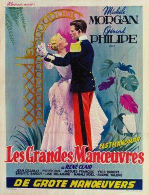 Les Grandes Manœuvres - Poster Belgique