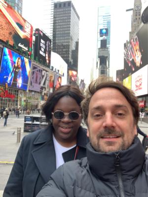 Balance de la 24ª edición de los Rendez Vous con el Cine Fancés en Nueva York - Deborah Lukumuena et Louis-Julien Petit - © DR