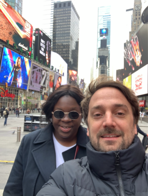 Bilan de la 24e édition des Rendez Vous with French Cinema in New York - Deborah Lukumuena et Louis-Julien Petit - © DR