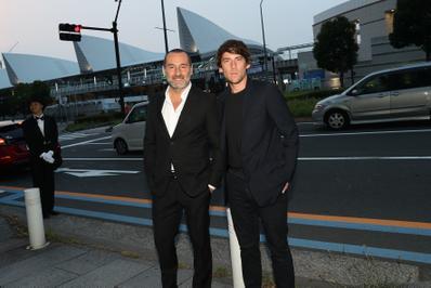 June 20: Opening of the 27th French Film Festival in Japan - Gilles Lellouche et son producteur Hugo Sélignac - © Laurent Campus