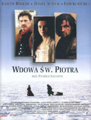 La Veuve de Saint-Pierre - Poster Pologne