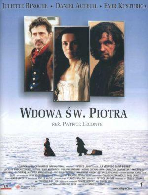 The Widow of Saint Pierre - Poster Pologne