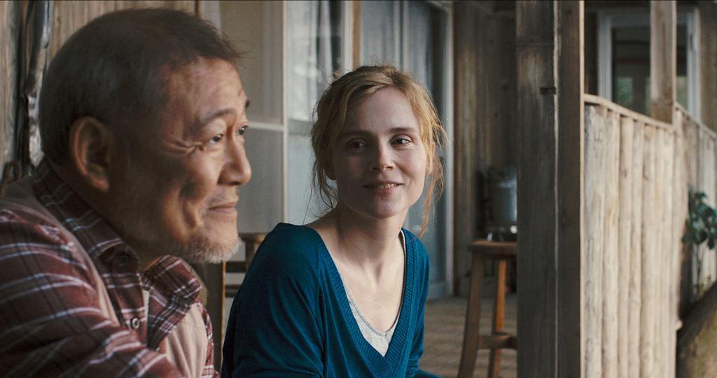 Le Coeur régulier - Jun Kunimura et Isabelle Carré