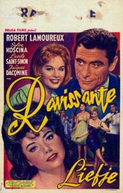 The Ravishing Idiot (Agent 38-24-36) - Poster Belgique