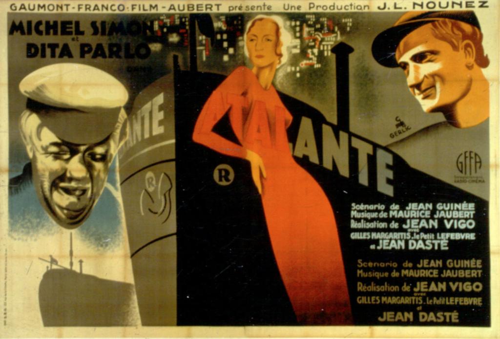L'ATALANTE Movie POSTER 11x17 French | eBay