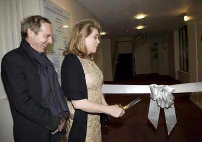 Réouverture du Ciné Lumière à Londres en présence de Catherine Deneuve - © Pablo Goikoetxea