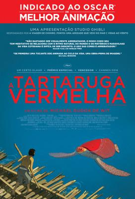 The Red Turtle - Poster - Brazil