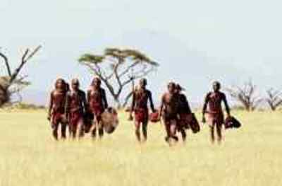 Masai the rain warriors