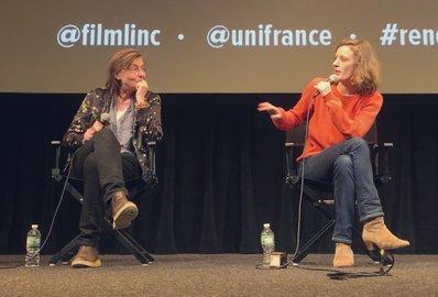 Bilan de la 24e édition des Rendez Vous with French Cinema in New York - Mia Hansen-Love et sa chef opératrice Hélène Louvart - © Bestimage