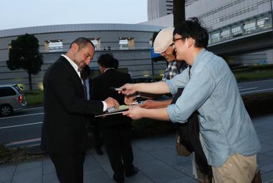 June 20: Opening of the 27th French Film Festival in Japan - Gilles Lellouche - © Laurent Campus