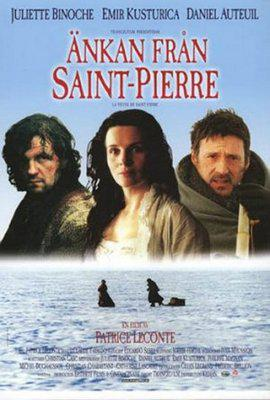 The Widow of Saint Pierre - Poster Suède