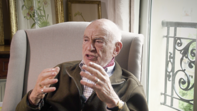 Edgar Morin, un penseur à Paris