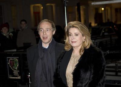 Catherine Deneuve launches the reopening of the London Ciné Lumière - © Pablo Goikoetxea