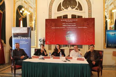 Retour sur le premier Festival International du Film du Vietnam - Conférence de presse des films français