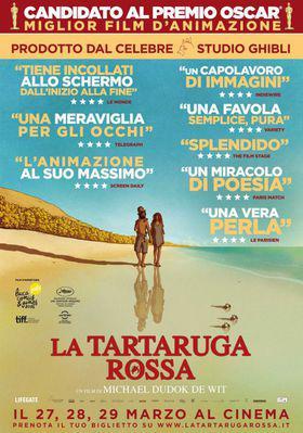 La tortuga roja - Poster - Italy