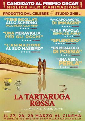 The Red Turtle - Poster - Italy
