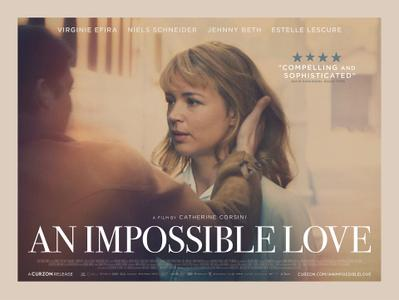 Un amour impossible - Poster - UK