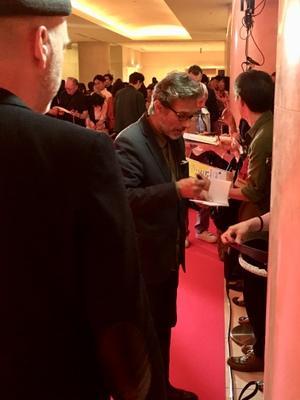 June 20: Opening of the 27th French Film Festival in Japan - Nils Tavernier sur le tapis rouge des autographes - © UniFrance