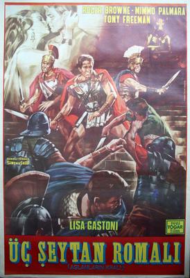 Les Trois centurions - Poster Turquie