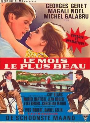 Le Mois le plus beau - Poster Belgique
