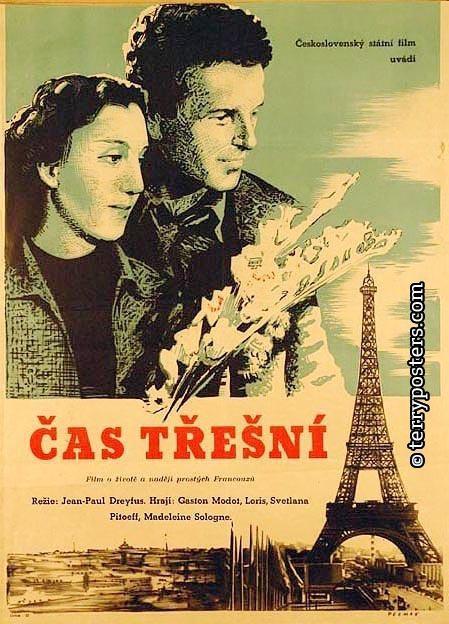 Le Temps des cerises - Poster Tchécoslovaquie