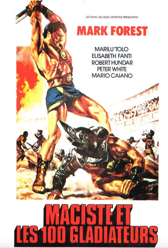 Maciste, gladiador de Esparta