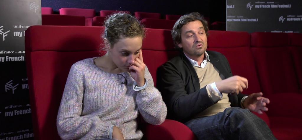 Interview with Louis Do De Lencquesaing & Alice De Lencquesaing