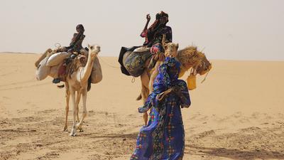 Vents de sable, femmes de roc - © Anne-Françoise Bersou