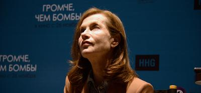 A very French July 14 in Moscow, with Isabelle Huppert and Louis Garrel
