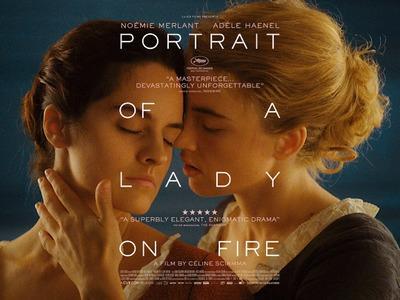 Retrato de una mujer en llamas - UK
