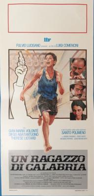 Un muchacho de Calabria - Poster Italie