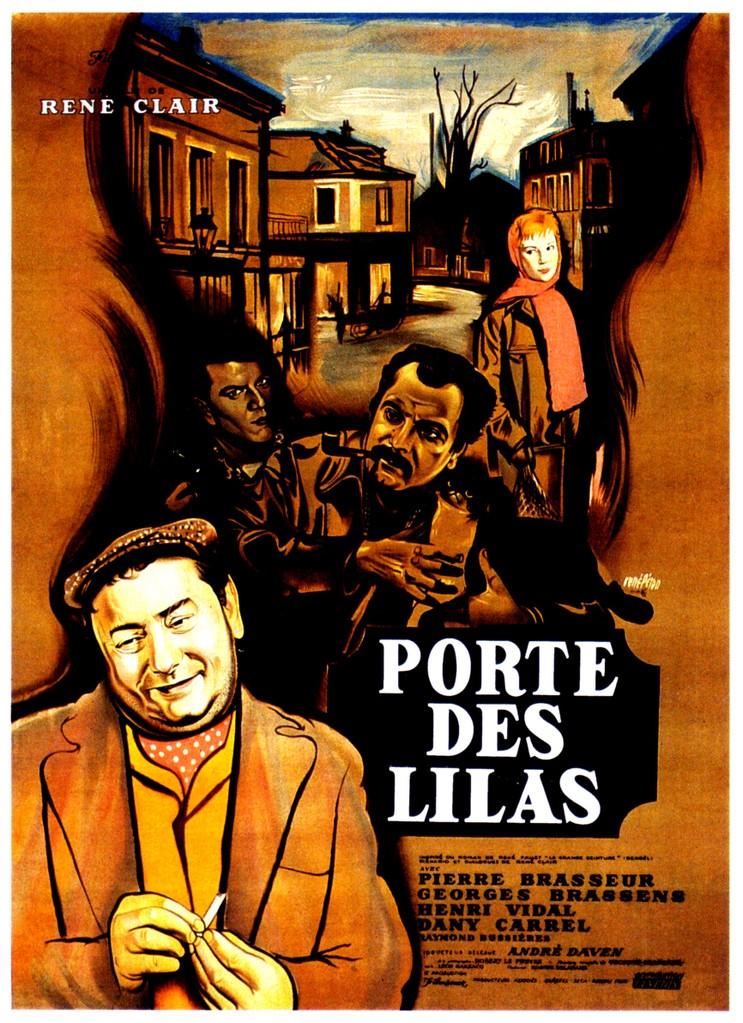 Porte des Lilas - Poster France