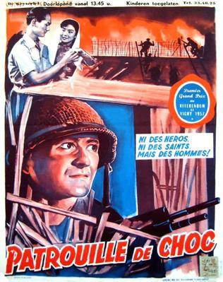 Patrouille de choc - Poster Belgique