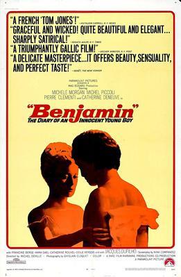 Benjamin ou les mémoires d'un puceau - Poster Etats-Unis