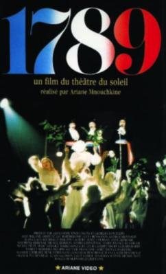1789 - Jaquette VHS France