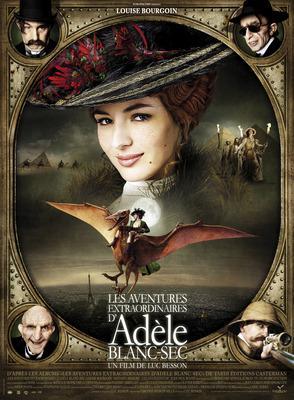 Extraordinary Adventures of Adèle Blanc-Sec/アデル/ファラオと復活の秘薬 - Poster France - 4