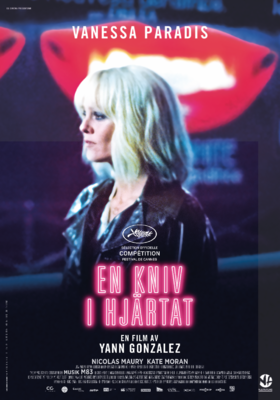Knife + Heart - Poster - Sweden