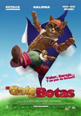 La Véritable Histoire du chat botté - Poster - Mexique