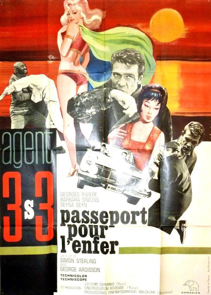 Agent 3S3, passeport pour l'enfer