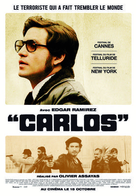 Carlos, le film - Affiche Quebec