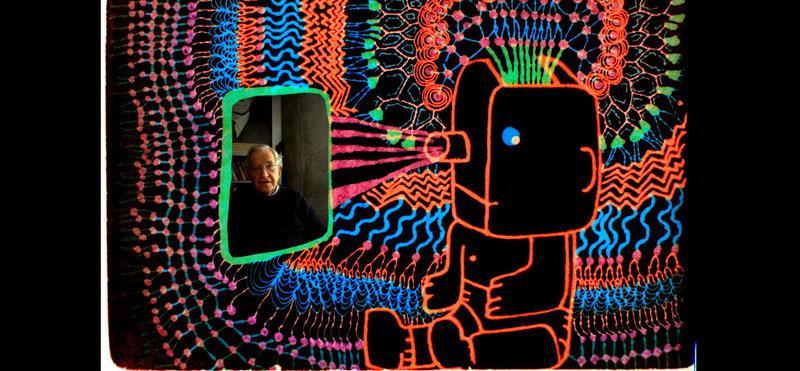 Focus sur l'œuvre de Michel Gondry : découvrez les coulisses de son dernier film Conversation animée avec Noam Chomsky !