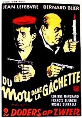 Du mou dans la gâchette - Poster Belgique