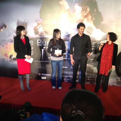 Tomer Sisley in China - Première Pékin