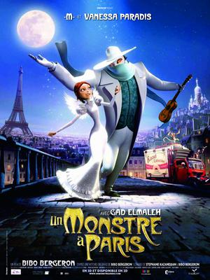 A Monster in Paris - Poster - France