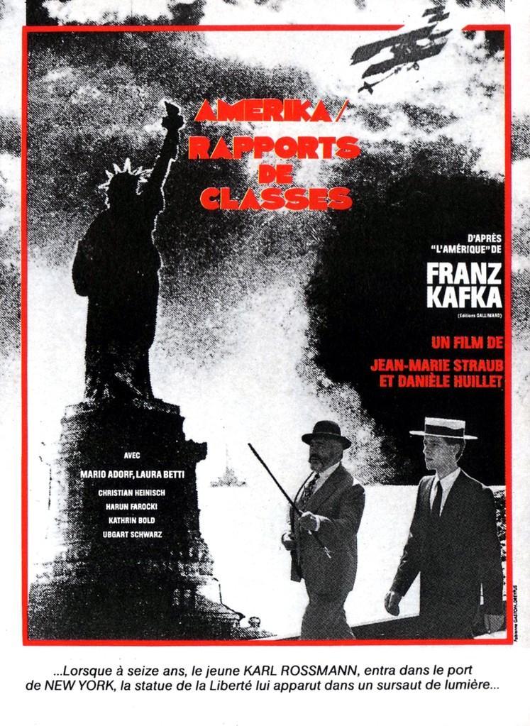 Amerika/Rapports de classes