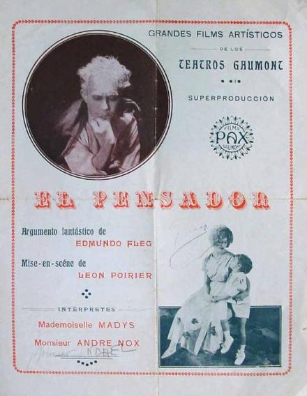 Le Penseur - Poster Espagne