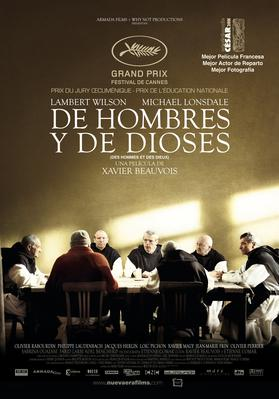 Of Gods and Men - Poster - Mexique