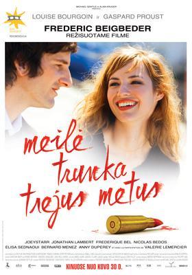 L'Amour dure trois ans - Poster - Lituanie