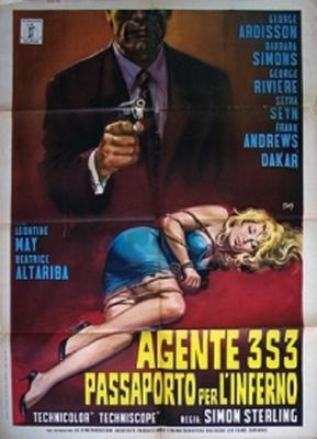 Agent 3S3, passeport pour l'enfer - Poster - Italy